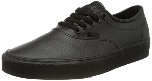 Vans Herren Doheny Decon Suede Sneaker, Trommelleder schwarz schwarz, 44 EU