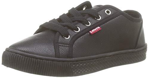 Leichte lässige Schuhe aus Segeltuch für entspannte Tage, Schwarz, 36
