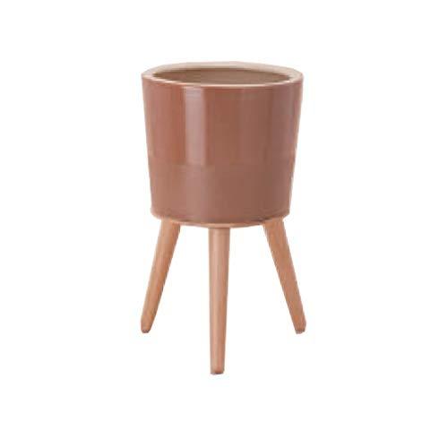 『エルナ40 木製脚付き鉢カバー』