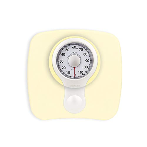 MXSB Mechanical Scales for Body Weight,Mechanical Scales Large Rotating Dial, Mechanical Bathroom Scales 120 kg