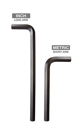 TEKTON Hex Key Wrench Set, 30-Piece (.028-3/8 inch, 0.7-10 mm) | 25253