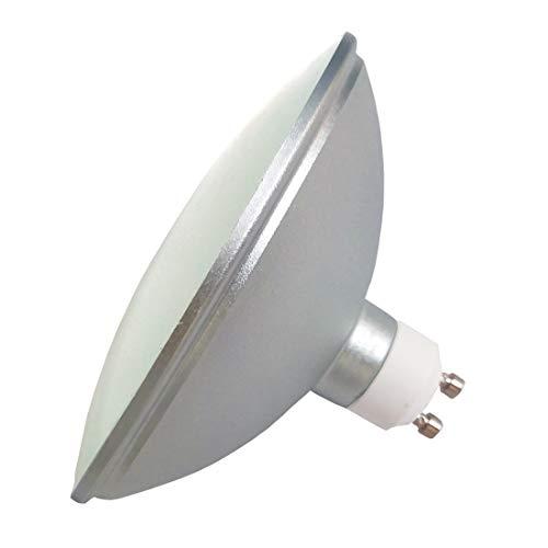 YAKAiYAL 12W AR111 GU10 Lampe LED Ampoule IP65 Imperméable Blanc Froid 6000K AC85-265V Réflecteur ES111 Lampe à Spot de 120 Degrés Non Dimmable 1-Pack