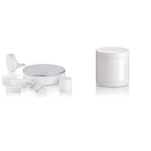 Somfy 2401497 - Home Alarm - Système d'Alarme Maison sans Fil Connecté - Somfy Protect & Détecteur de Mouvement Intérieur Compatible Animaux, Gamme Protect