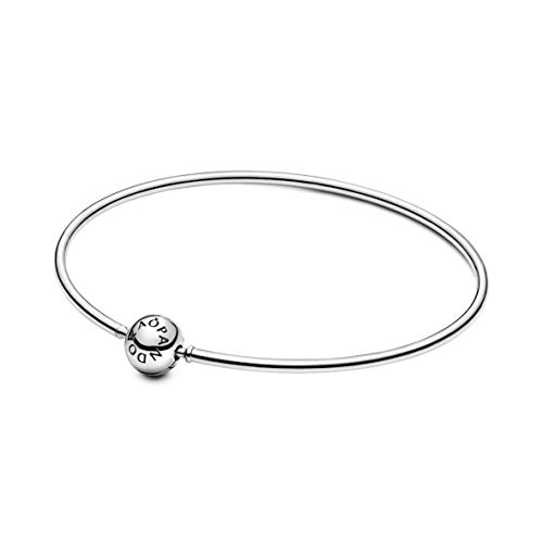 PANDORA Me Bangle 925 Sterling Silver Bracelet, Size: 18cm, 7.1 inches - 598406C00-18