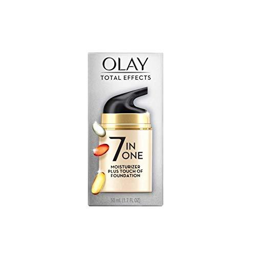 Olay Total Effects 7 in 1 Face Moisturizer and Foundation, 1.7 fl oz