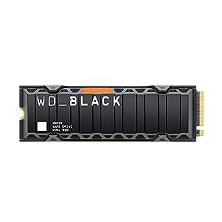 WD_BLACK SN850 2TB NVMe Gaming SSD mit Kühlkörper - Works with PlayStation 5; M.2 2280; PCIe Gen4, bis zu 7000 MB/s Lesegeschwindigkeit (B08PMLYV9H) | Amazon price tracker / tracking, Amazon price history charts, Amazon price watches, Amazon price drop alerts