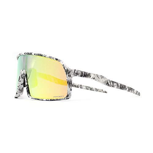 2019 Fahrradbrille/Fahrradbrille, Winddicht, polarisiert, für BMX-Fahrer, Unisex, grün