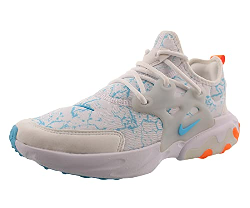 Nike React Presto Print (Gs) Boys Shoes Size 5, Color: White/Sky
