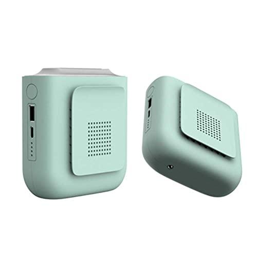 AADEE Ventiladores personales portátiles operados al aire libre, recargables, duraderos, para deportes, oficina, dormitorio, escalada, senderismo al aire libre (tres colores disponibles)