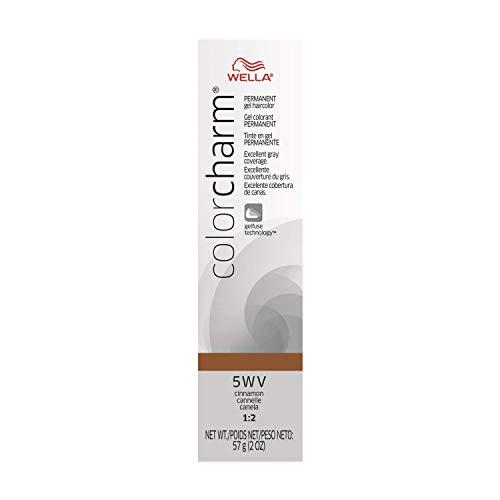 WELLA Color Charm Permanent Gel Hair Color, 5WV, 2 oz