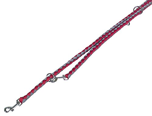 Nobby 80709–01 Laisse Corda, Rouge/Gris