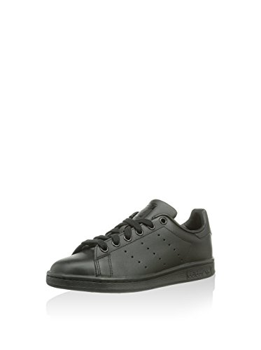 Adidas Originals Stan Smith - Baskets mode Mixte Adulte - Noir (Black/Black) - 46 2/3 EU