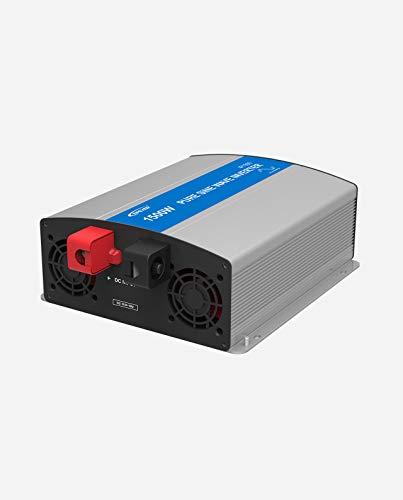 EPEVER REINER SINUS Spannungswandler IP Serie Inverter Wechselrichter 24V bis 48V DC auf 230V AC Stromwandler (IP1500-22, 1500W 24V/230V)