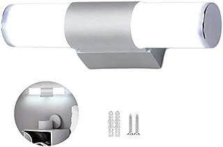 25cm Lámpara De Pared Led Luces de tocador Para Espejo De Baño Moderna 12W 6500K LED Accesorio de iluminación para baño Lá...
