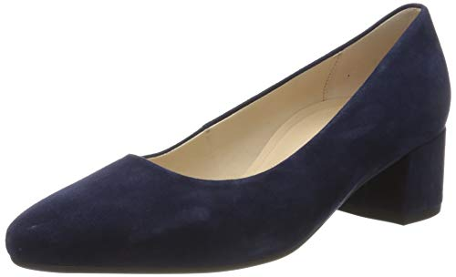 Gabor Shoes Damen Comfort Fashion Pumps, Blau (Bluette 36), 40 EU