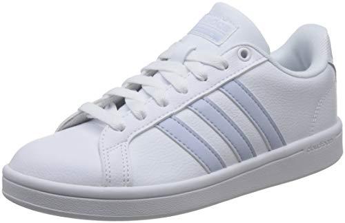 adidas Cloudfoam Advantage, Scarpe da Tennis Donna, Bianco (Ftwwht/Aerblu/Cblack Ftwwht/Aerblu/Cblack), 36 2/3 EU