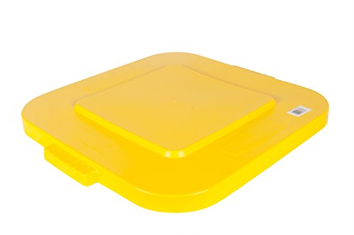 Rubbermaid Commercial Products Brute Snap On Lid - Yellow