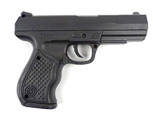 Evil Wear Kinder Spielzeug-Pistole Softair-Waffe schwarz Federdruck 0,2J Set