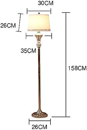 Floor lamp.. ASL Crystal Stehleuchte, vertikale Stehleuchte Schlafzimmer Wohnzimmer Study Ground Leuchte Creative E27 Lampe 35 * 158CM Kredit (gr��e : 35 * 158CM)
