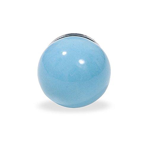 Unbekannt Poignée de Meuble Bleu Clair uni
