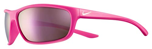 Price comparison product image Nike EV1157-660 Dash Sunglasses Laser Fuchsia / Pink Foam Frame Color,  Grey with Light Pink Mirror Lens Tint