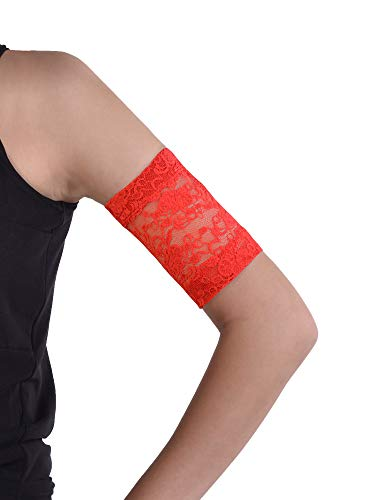 Dia-Band, brazalete de mantenimiento y protección de encaje para sensor de glucemia Freestyle Libre, Medtronic, Dexcom o Omnipod – Banda para diabética cómoda y reutilizable (M (27-31 cm))