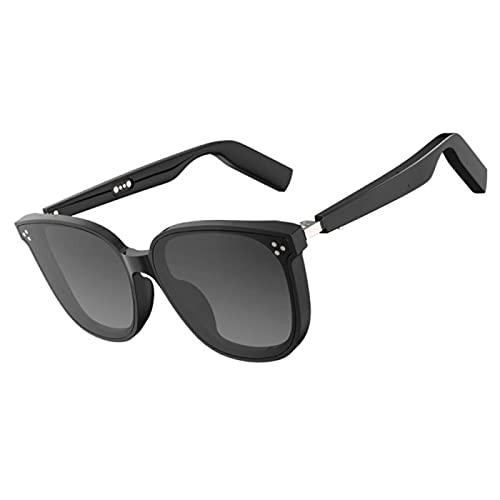 ZWRY Gafas inteligentes Gafas de sol bluetooth inalámbricas, gafas, micrófono para teléfonos inteligentes, auriculares inalámbricos para deportes al aire libre a prueba de agua