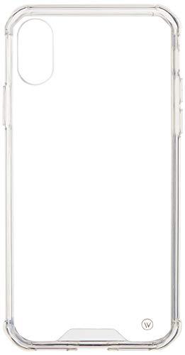 1168-Capa Protetora Hybrid Case Para iPhone X/XS, iWill, Capa Anti-Impacto, TRANSPARENTE