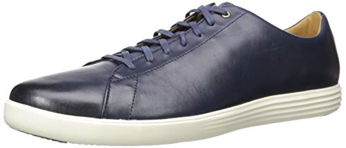 Cole Haan Men's Grand Crosscourt II Sneaker, navy leather burnished, 12 Medium US