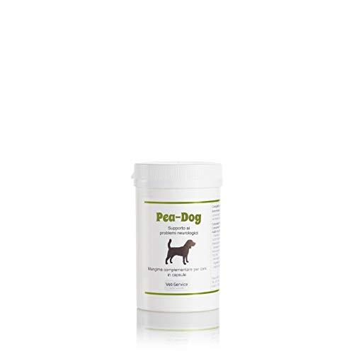 Pea-Dog, conf. 30 cps, Supporto ai problemi neurologici - Mangime complementare (Integratore) per cani - in caso di dolore neuropatico ed infiammazioni, con PEA ed oleuropeina