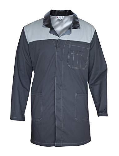 camicia uomo da lavoro C.B.F. Balducci Group Camice Grigio da Lavoro e Laboratorio Uomo Donna - Grembiule (Grigio