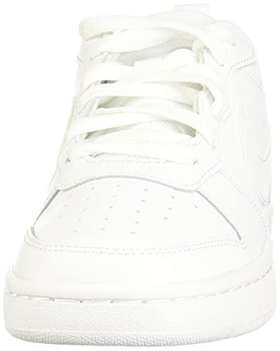 Nike Court Borough Low 2, Zapatillas de Correr, White White White, 35 EU