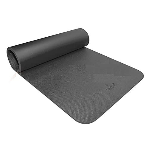 Colchoneta Para Fitness y rehabilitación 185cmx70cmx1cm RehabMedic FITMAT Negro