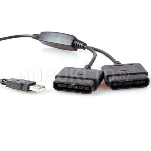 Dual PSX PS1 PS2 Playstation 2 a PS3 PC USB Pad controlador adaptador convertidor adaptador