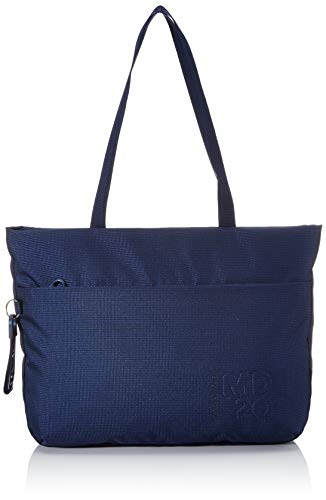 Mandarina Duck Damen Md 20 Kuriertasche, Blau (Dress Blue), 10x10x10 Centimeters