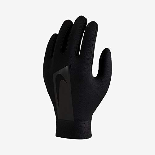 Nike Y Nk Acdmy Hprwrm, Guanti da Calcio Unisex – Adulto, Black/Black/Black, M