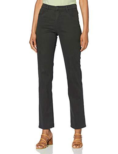 BRAX Damen Style Carola Winter Dream Five-Pocket-Hose in winterlicher Qualität Straight Fit, Grau, 42