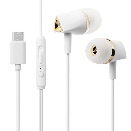 ZHINTE Audífonos Auriculares Tipo C con micrófono para Pixel 2 / XL, Huawei Mate 10 P20 Xiaomi 6 8