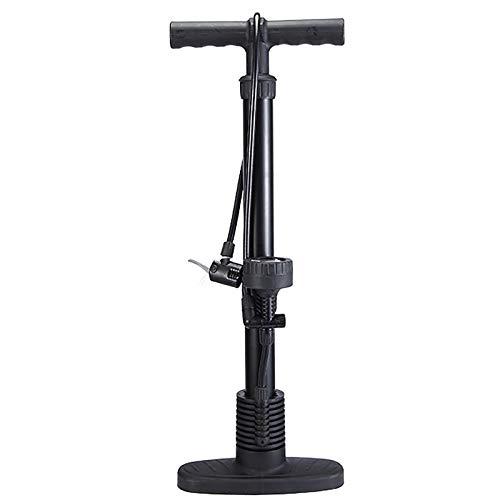 NINAINAI Inflator Bomba de Aire de Coche eléctrico para Bicicletas Bomba de Baloncesto Baleta de Baloncesto Bomba de Bola de Bola Portable Pump (Color : Black, Size : 60cm)
