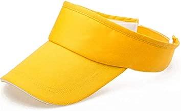 GREFER Sports Tennis Golf Sun Visor Hats Adjustable Sun Plain Hat Cap for Men Women