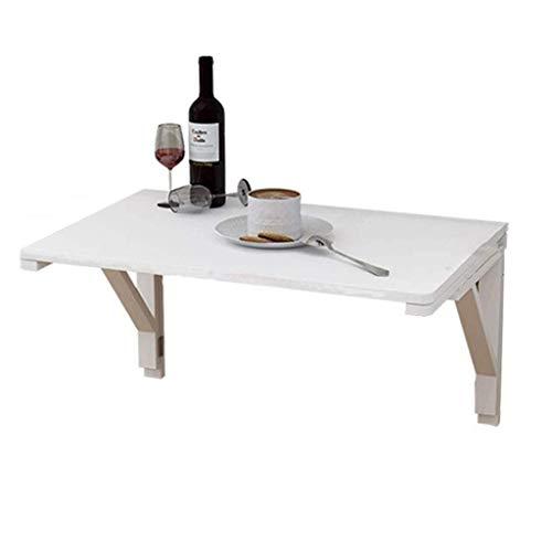 Klaptafel tuintafel eettafel muur schrijftafel vouwwand tafel solide eenvoudig restaurant slaapkamer woonkamer multifunctioneel hout Folding (grootte: 70x50cm) 100x50cm