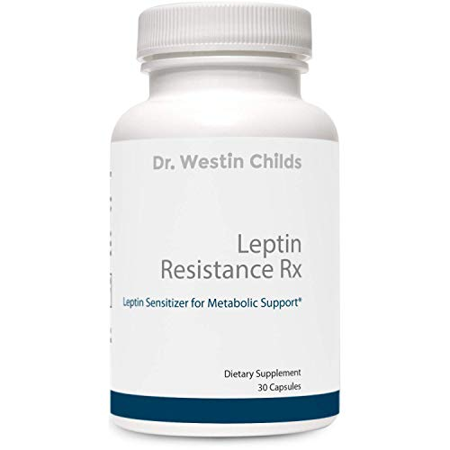 Dr. Westin Childs   Leptin Resistance Rx – Leptin Sensitizer with ORALVISC & GAGs for Weight Loss, Metabolic Support & Appetite Suppression - Lower Leptin Levels & Manage Leptin Resistance