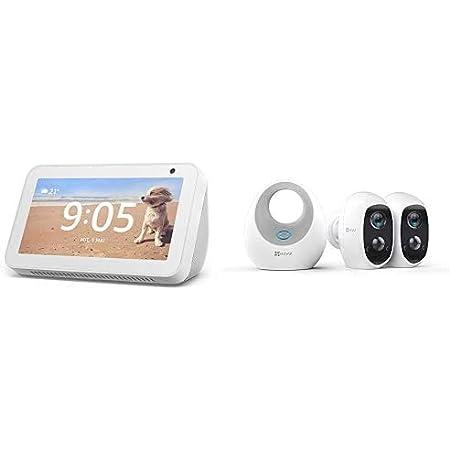 Echo Show 5 Weiß Ezviz C3a 1080p Überwachungskamera Aussen Wlan Mit Akku Duo Pack Mit W2d Lan Kabellos Wifi 2 4ghz Nachtsicht 2 Wege Audio Sd Kartenslot Pir Bewegungsmelder Alle Produkte