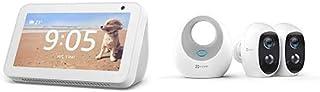 Echo Show 5, Bianco + Ezviz 2 Smart Cameras Kit C3A 1080 p