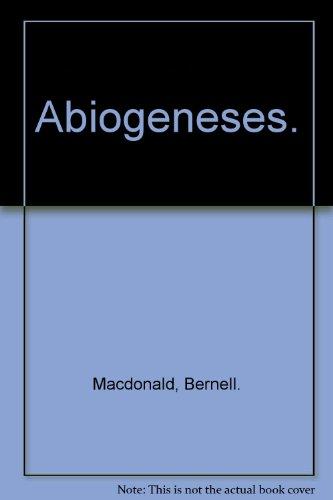 Abiogeneses.