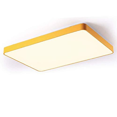 Long Life Plafondlamp reduceert re-lamp, draadloos, minimalistische lichtgradatie, acryl, strijkijzer, plafondlamp incl.