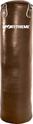 Sport-Thieme Boxsack Leder   In verschiedenen Varianten (Länge)   Profi-Boxsack   Außenmaterial: Leder   Extrastarke Naht   Inkl. 4-Punkt-Aufhängkette u. Drehwirbel   braun