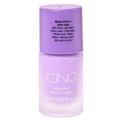 Icing Women's Sorbet Purple Matte Nail Polish