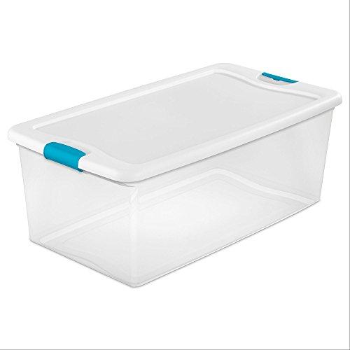 Clear Latching Storage Box - 106 Quart