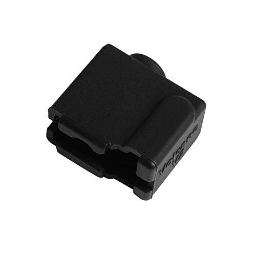 ZJF Componentes de la computadora Accesorios eléctrico Cubierta de la Caja de Silicona de halicona de 24 * 20 * 11.5mm para la Parte de la Impresora 3D (Color : Black)